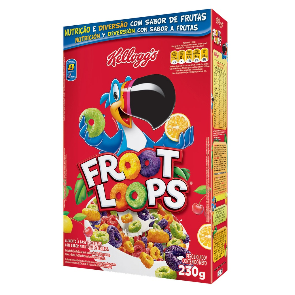 CEREAL MATINAL FROOT LOOPS 230G