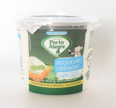 REQUEIJÃO CREMOSO PORTO ALEGRE LIGHT - 400G