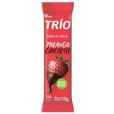 BARRA DE CEREAL TRIO MORANGO / CHOCOLATE- 20G