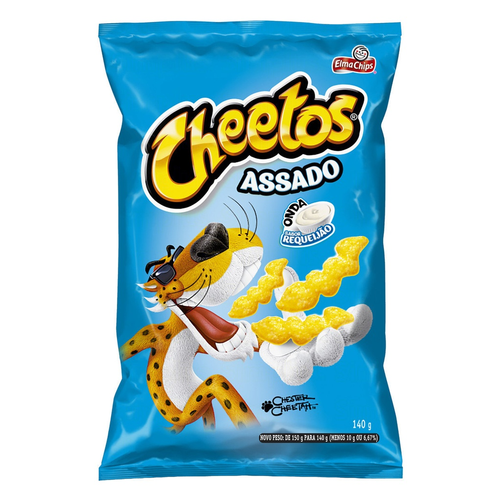 CHIPS CHEETOS ONDA SABOR REQUEIJÃO - 140g